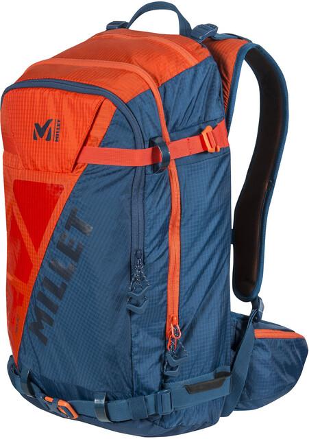 Edelrid Neo Klettergurt : Millet neo backpack orange poseidon campz